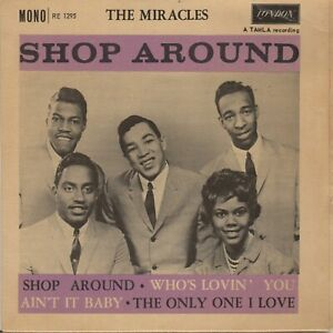 """Reproduction Motown """"The Miracles, Shop Around, Album Cover"""" Poster"""