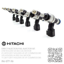 HITACHI DIRECT FUEL INJECTOR SET LFX V6 SIDI 3.6L [HOLDEN WM STATESMAN/CAPRICE]