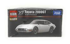 Tomica Premium Nr 27 Toyota 2000GT weiß 1:59 Takara Tomy Japan Modellauto
