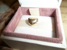 Genuine Authentic Pandora 14ct Gold Puffed Heart Charm 750119 585 ALE