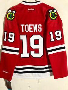 Reebok Women's Premier NHL Jersey Chicago Blackhawks Jonathan Toews Red sz S