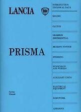 LANCIA PRISMA 1986 voiture Shop Manuel Catalogue Livre Papier