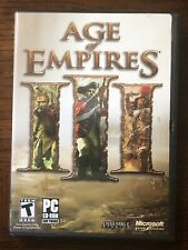 Age Of Empires III PC Game 2005 Discs 2 & 3