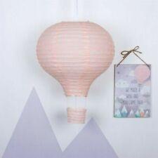 Pink Hot Air Balloon Paper Lampshade Babies Room Nursery Lighting Lightshade