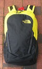 THE NORTH FACE VAULT BACKPACK -DAYPACK- LAPTOP SLEEVE-#CHJ0- S S GREEN / A GREY