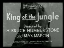 KING OF THE JUNGLE (1933) DVD BUSTER CRABBE, FRANCES DEE