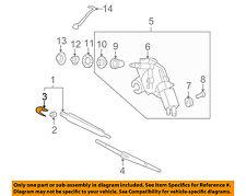 KIA OEM Sedona Wiper Washer-Liftgate Tailgate Hatch-Wiper Arm Cover 988124D000