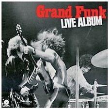 GRAND FUNK RAILROAD - LIVE CD ROCK 11 TRACKS NEU