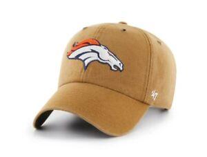 Denver Broncos '47 Brand Carhartt Clean up Adjustable Hat cap new NFL