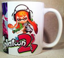 SPLATOON 2 - Coffee MUG - CUP - Switch Snes - mario - Bros - Land - Novelty Gift