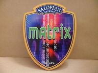 Salopian Brewery Matrix Ale Beer Pub Bar Pump Clip Face 9