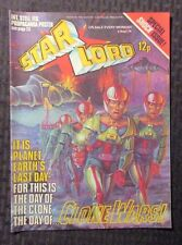 1978 Sept 2 STAR LORD IPC UK Weekly Comic - Clone Wars VF