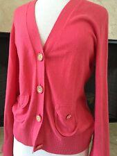 Tory Burch cashmere blend pink Cardigan ( M )