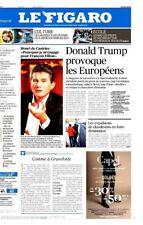 Le Figaro 17.01.2017 N°22531*TRUMP-EUROPE*Vendée globe*ECOLE*MUSÉES*SANTE*OPTIQU
