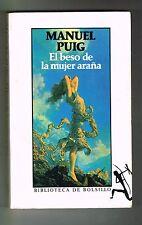 Manuel Puig El Beso de la Mujer Araña 1991 Novela Argentina