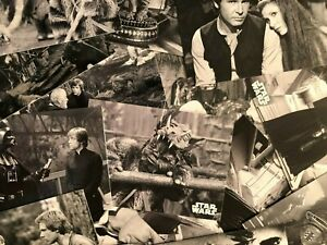 2020 Topps Star Wars RotJ - Black and White Complete Base Set - 133 Cards