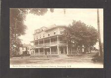 POSTCARD:  GIEBEL HOUSE - HOTEL - BROCKPORT, NEW YORK - Mailed