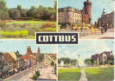 AK Cottbus, 4 Ansichten 1967