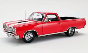 "ACME A1805410 1965 Chevrolet El Camino ""Street Fighter"" Rouge & Noir 1/18"
