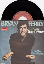 "BRYAN FERRY THIS IS TOMORROW ROXY MUSIC 1977 VINYL RECORD YUGOSLAVIA 7"" PS"