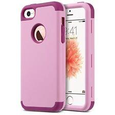 ULAK iPhone 5 Case,iPhone SE Case, iPhone 5s Case Hybrid High Impact Soft Silico