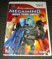MEGAMIND MEGA TEAM UNITE - Wii - COMPLETE WITH MANUAL - FREE S/H - (AA)