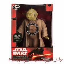 Neuf Disney Store Star Wars le Réveil de la Force Parlant Yoda Véritable Film