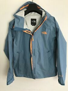 Womens The North Face Jacket / Coat size UK M/L Waterproof Hyvent 2.5L Blue #5