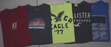LOT 5 HOLLISTER PATAGONI AERO ABERCROMBIE AMERICAN EAGLE MENS S/S XL T Shirts