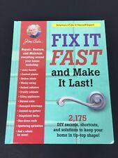 Fix It Fast And Make It Last! Jerry Baker, 2175 DIY Secrets, Shortcuts,...