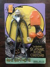 1993 The Nightmare Before Christmas Jack Skellington Hasbro Action Figure - New
