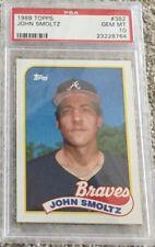 1989 Topps John Smoltz - PSA 10 Rookie  Braves HOF