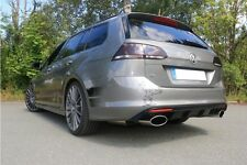 Fox Stainless Steel Exhaust Pipe VW GOLF VII 7 Variation 2.0 R 4motion 206/221kW