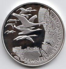 10 Euro Gedenkmünze Nationalparke Wattenmeer 2004 Polierte Platte Silber 925/-