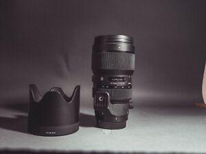 Sigma 50-100mm F1.8 Canon EF, Original carrying case