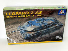 Leopard 2 A5 German Main Battle Tank 1/35 Italeri 365 Armor Model Kit
