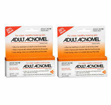 2 PACK Acnomel Adult Acne Medication 1.3oz 038485911610DT