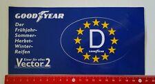 Aufkleber/Sticker: Goodyear - Vector 2 Reifen (1004167)
