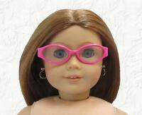 Doll Clothes Glasses Hot Pink Plastic made for 18 inch American Girl