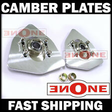 MK1 Universal Fit Triangle Camber Plates Plate Strut Mount Acura RSX DC5 TypeS