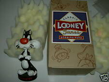 WB CLASSIC LOONEY TUNES SYVESTER BOBBING HEAD BOX 1993