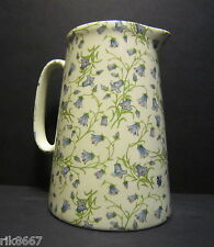 Heron Cross Pottery Harebell 4 Pint English Milk Jug very big (vase)