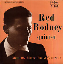 Red RODNEY Modern music from Chicago French LP FANTASY 68532