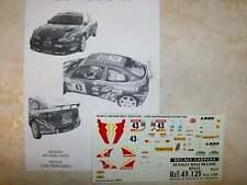 MEGANE MAXI KIT CAR RALLYE LYON CHARBONNIERES 2000 JEROME GALPIN DECALS