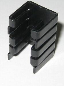 Horizontal PC Board Mount Press Fit TO-220 Aluminum Thermal Heatsink  19 x 13 mm