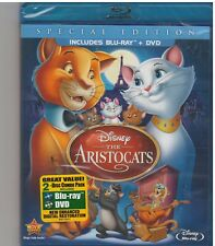 DISNEYS ARISTOCATS (Blu-ray/DVD, 2012, 2-Disc Set, Special Edition) NEW
