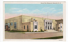 World War Memorial Hall Bismarck North Dakota postcard