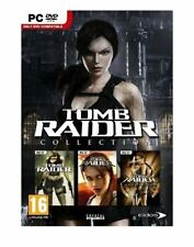 TOMB RAIDER COLLECTION (PC-DVD) 3 GAME PACK NEW SEALED UNDERWORLD/LEGEND/ANNIVER