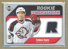 Thomas Vanek 2005-06 Upper Deck hockey Rookie Threads JERSEY