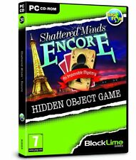 * PC NEW SEALED Game * SHATTERED MINDS - ENCORE * Hidden Object Game